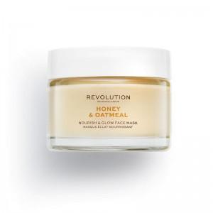 Revolution - Skincare Honey & Oatmeal Nourish & Glow Face Mask