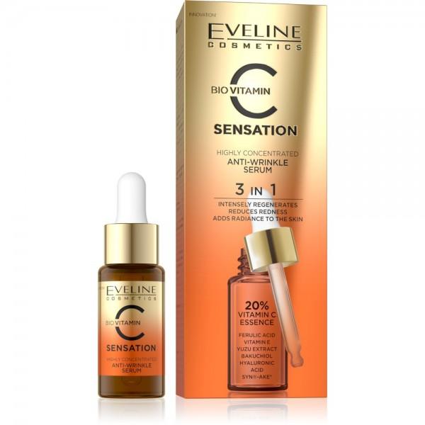 Eveline Cosmetics - Serum - C Sensation Highly Concentrated Anti-Wrinkle Serum