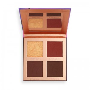 Revolution - Makeup Palette - Revolution x Tammi Golden Hour Deep Dark Face Palette