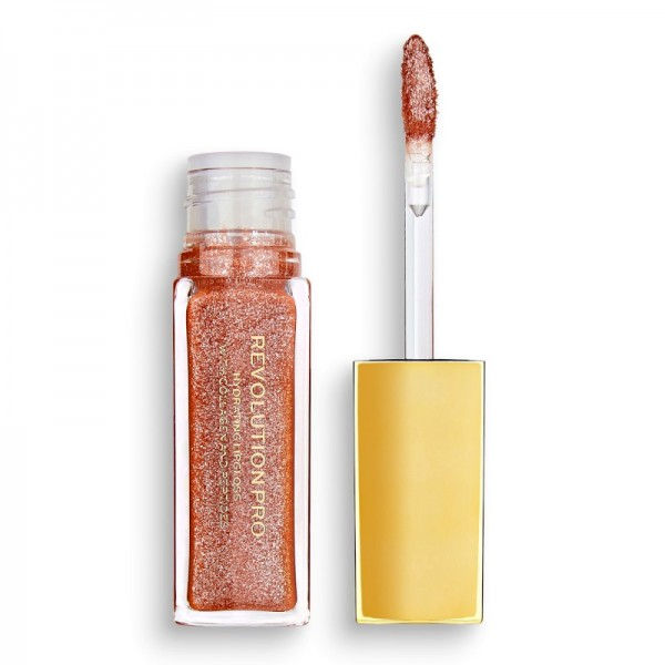Revolution Pro - All That Glistens Hydrating Lipgloss Suede