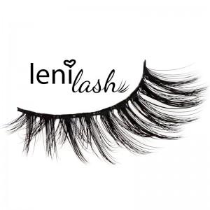 lenilash - 3D-Eyelashes - Black - Wild