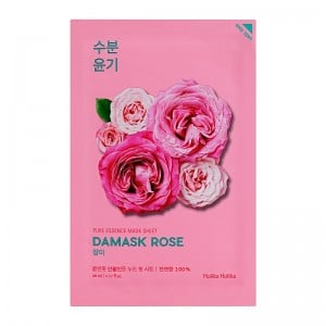 Holika Holika - Gesichtsmaske - Pure Essence Mask Sheet - Damask Rose
