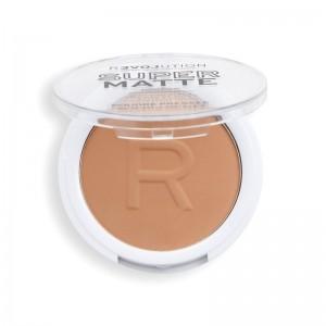 Revolution - Puder - Super Matte Pressed Powder - Tan