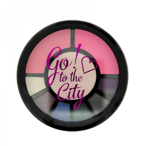 I Heart Makeup - Make Up Palette - Go! Palette - Go to the City!