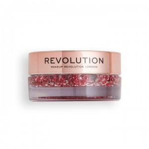 Revolution - Glitterbalm - Viva Glitter Balm Pot Pink Party