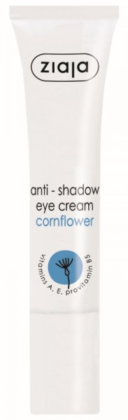 Ziaja - Anti Shadow Eye Cream - Cornflower