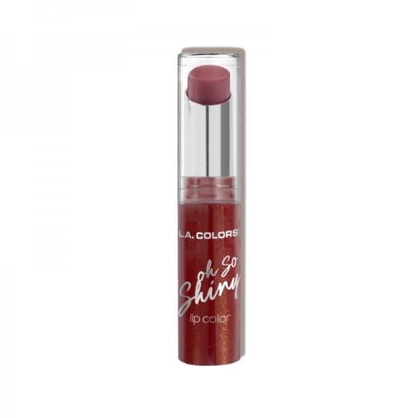 LA Colors - Oh So Shiny Lip Color - Ruby Shine