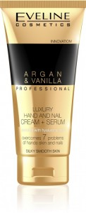 Eveline Cosmetics - Argan & Vanilla Professional Luxury Hand And Nail Cream-Serum 100Ml