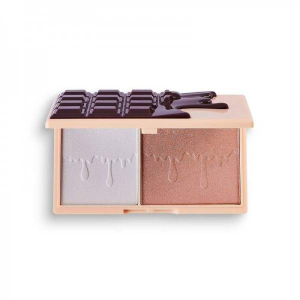 I Heart Revolution - Highlighterpalette - Chocolate Fondue Mini Chocolate Palette