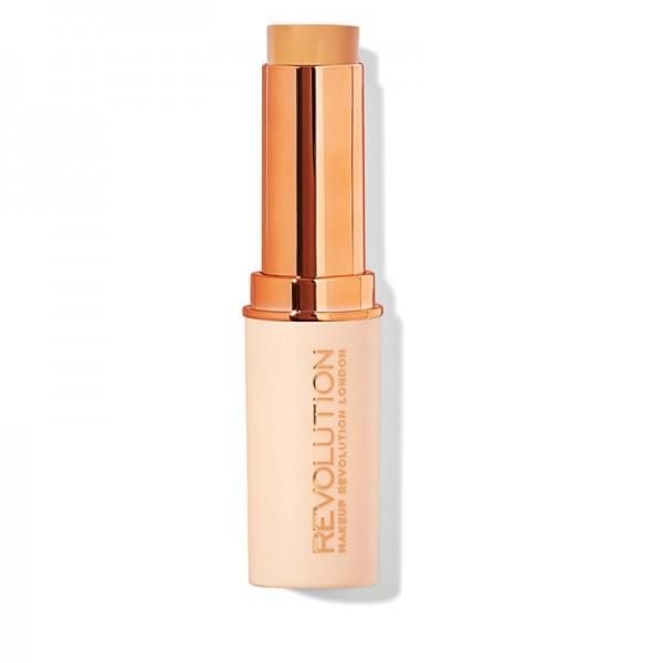 Makeup Revolution - Fast Base Stick Foundation - F8