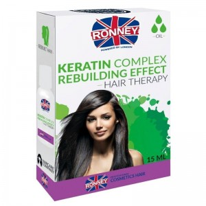 Ronney Professional - Keratin Complex Rebuilding Effect Hair Therapy Oil - 15ml