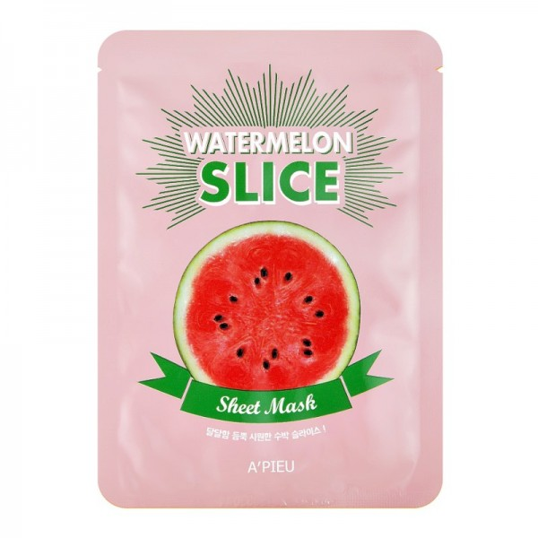 APIEU - Mask - Watermelon Slice Sheet Mask