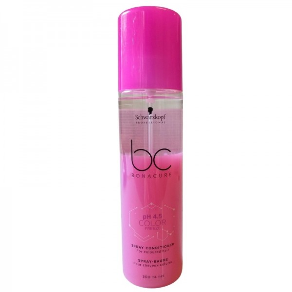 Schwarzkopf - Haarspülung Leave-in - BC Color Freeze Spray Conditioner - 200ml