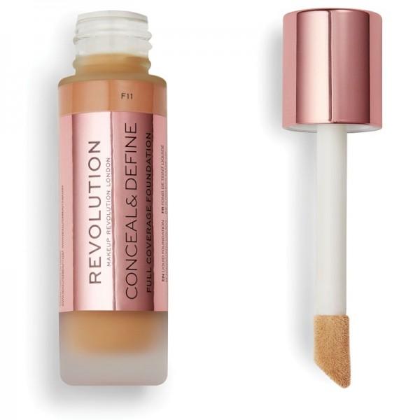 Makeup Revolution - Conceal & Define Foundation F11