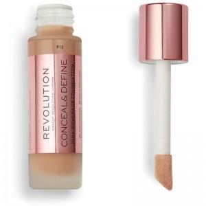 Makeup Revolution - Foundation - Conceal & Define Foundation F12