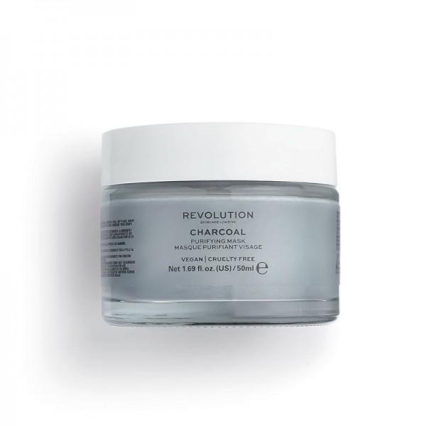 Revolution - Gesichtsmaske - Skincare Charcoal Purifying Mask