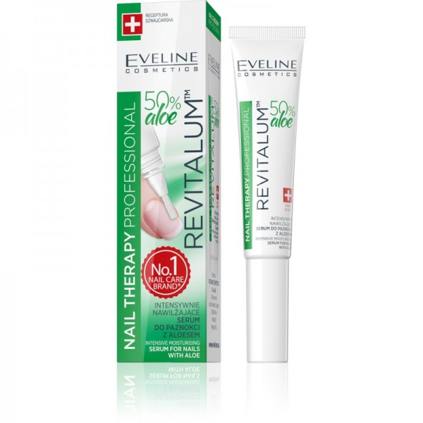 Eveline Cosmetics - Nail Therapy Revitalum Serum For Nails With Aloe
