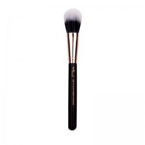 lenibrush - Duo Fibre Powder Brush - LBF17 - Matte Black Edition