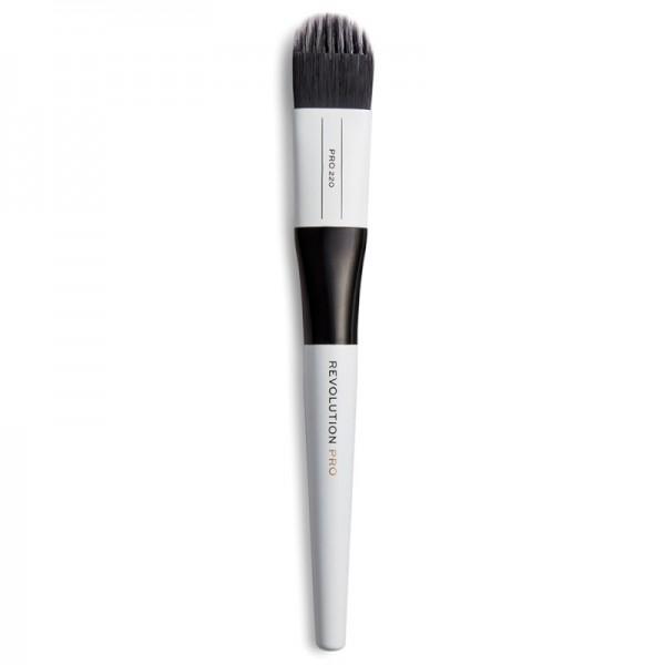 Revolution Pro - Kosmetikpinsel - 220 Medium Feathered Flat Brush