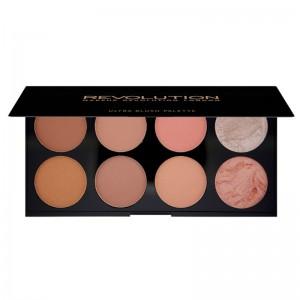 Makeup Revolution - Makeup Palette - Ultra Blush Palette - Hot Spice
