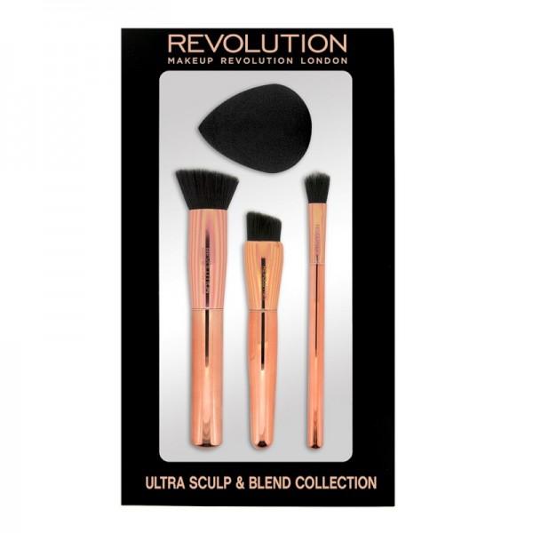 Makeup Revolution - Pinselset - Ultra Sculpt & Blend Collection