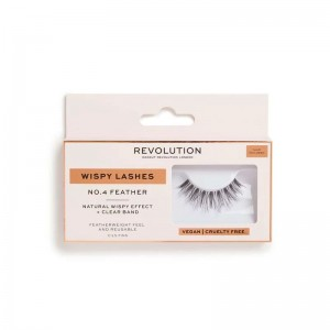 Revolution - Wispy Lashes - No.4 - Feather