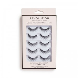 Revolution - Falsche Wimpern - Revolution 5 Pack Wispy Lashes