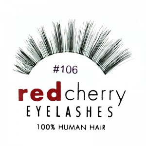 Red Cherry - False Eyelashes No. 106 Coco - Human Hair