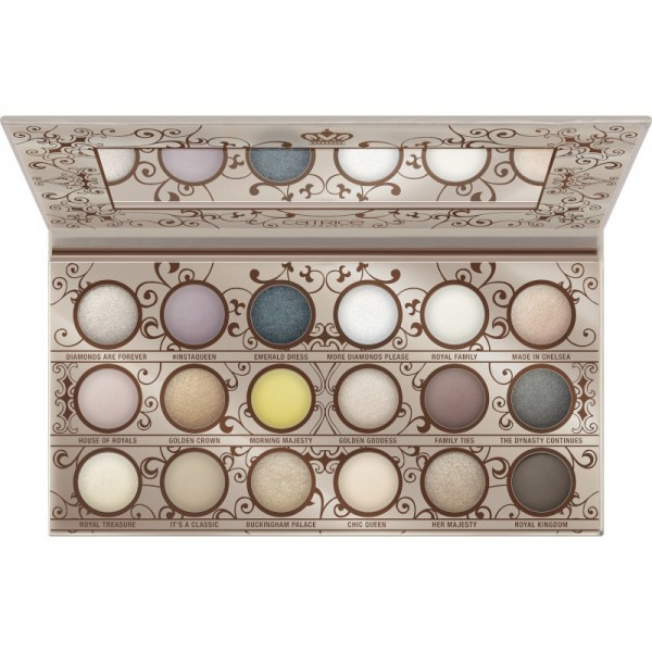 Catrice - Lidschattenpalette - Queen Couture 18 Colour Eyeshadow Palette - Gold & Nude