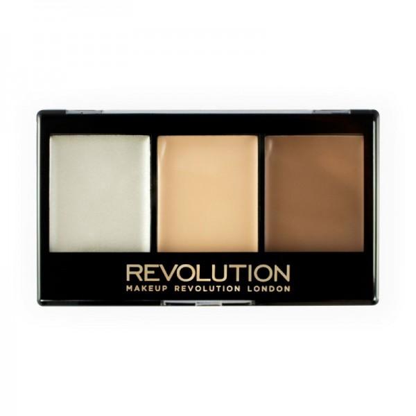 Makeup Revolution - Contourpalette - Ultra Contour Kit - Lightening Contour F01