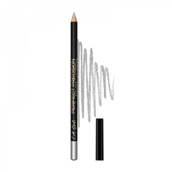 L.A. Girl - Eyeliner - Perfect Precision Eyeliner - Metallic Silver
