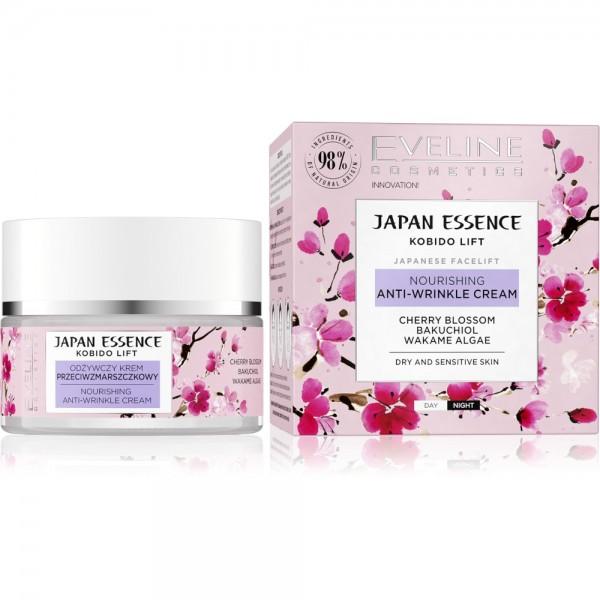 Eveline Cosmetics - Gesichtscreme - Japan Essence Nourishing Anti-Wrinkle Cream - 50ML