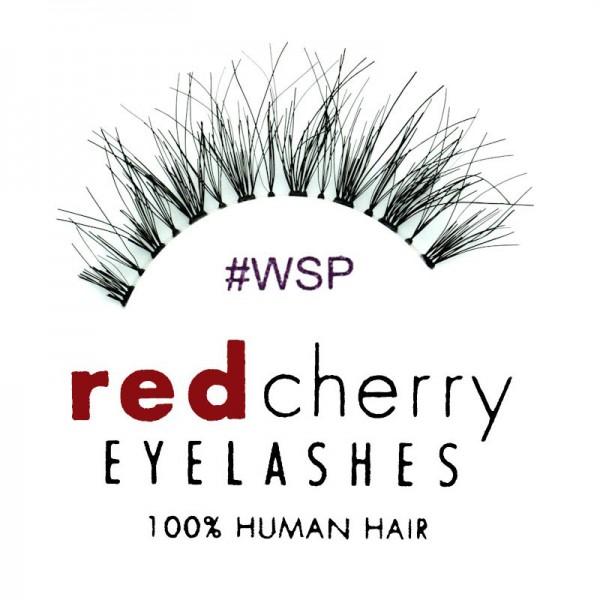 Red Cherry - Falsche Wimpern Nr. WSP Wispy - Echthaar