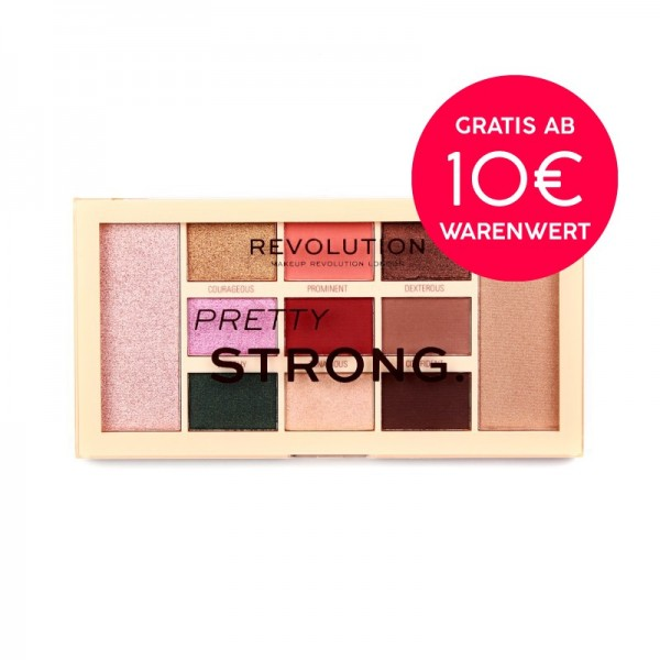 Makeup Revolution - Lidschattenpalette - I Am Pretty Collection - Pretty Strong