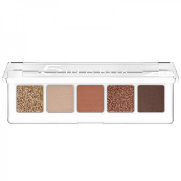 Catrice - Eyeshadow Palette - 5 In A Box Mini Eyeshadow Palette - 030 Warm Spice Look