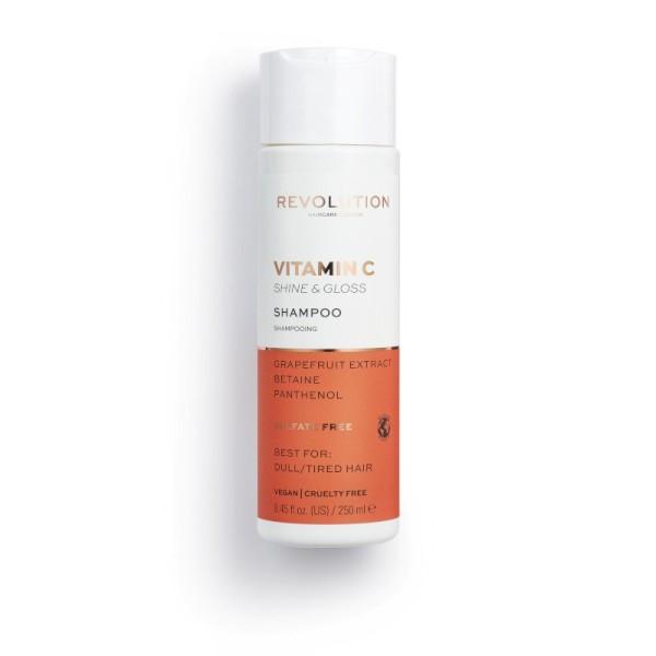Revolution - Shampoo - Vitamin C Shine & Gloss Shampoo - Dull Hair