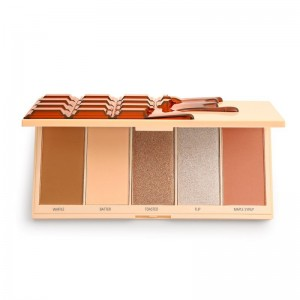I Heart Revolution - Makeuppalette - Waffle Chocolate Palette