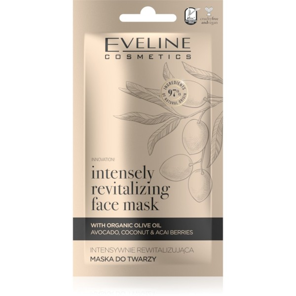 Eveline Cosmetics - Gesichtsmaske - Organic Gold  Intensiv Revitalisierende Gesichtsmaske