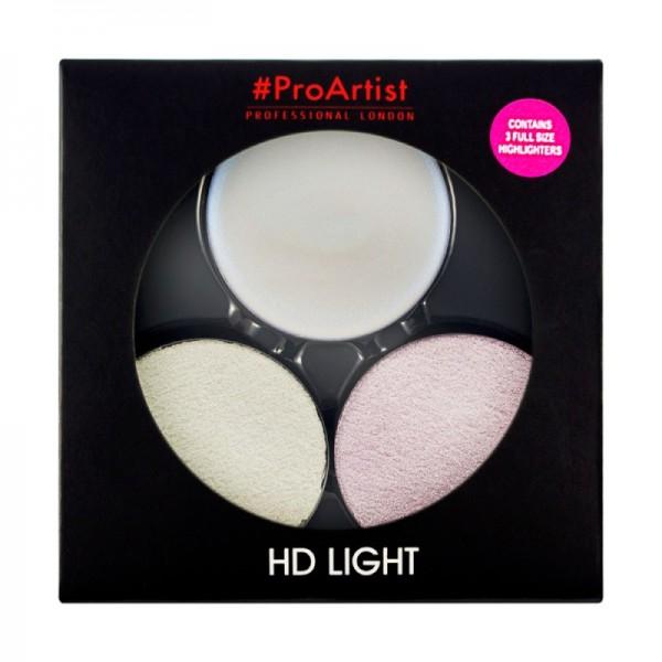 Freedom Makeup - Highlighterpalette - ProArtist Light Packs - HD Cold Light 1