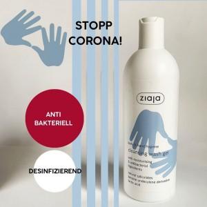 Ziaja - Antibakterielles Waschgel 400ml - Cleansing Wash Gel Hand & Body