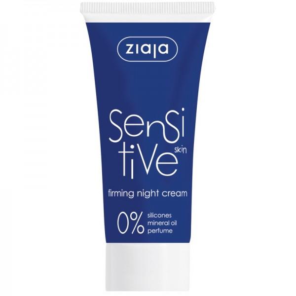Ziaja - Nachtcreme - Sensitive Skin Firming Night Cream