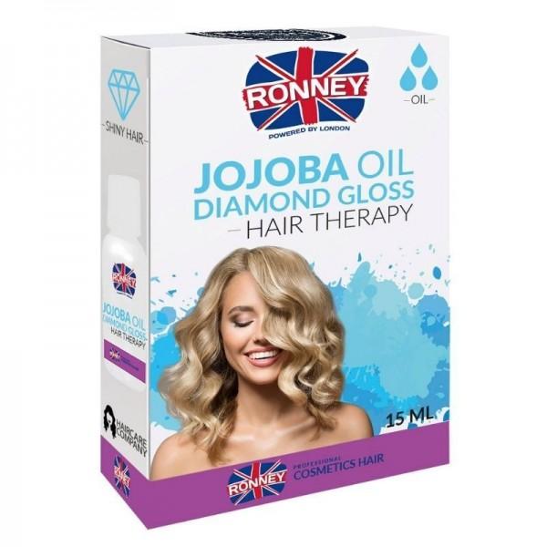Ronney Professional - Haaröl - Jojoba Oil Diamond Gloss Hair Therapy Oil - 15ml