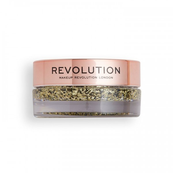 Revolution - Glitterbalm - Viva Glitter Balm Pot Golden Girl