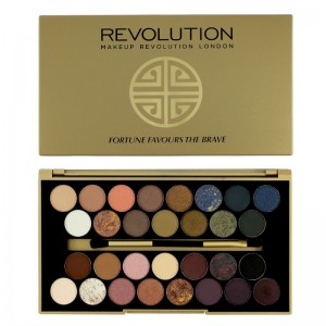 Makeup Revolution - Eyeshadow Palette - Fortune Favours the Brave