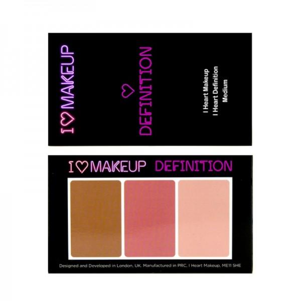 I Heart Makeup - Make Up Palette - I Heart Definition - Medium