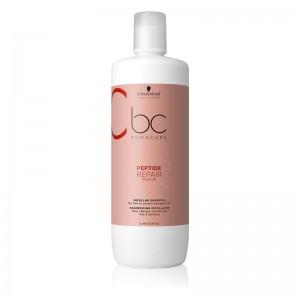 Schwarzkopf - Shampoo per capelli - BC Peptide Repair Rescue Micellar Shampoo - 1000ml