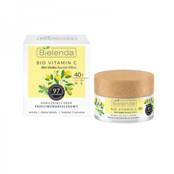 Bielenda - Gesichtscreme - Bio Vitamin C - Moisturizing Antiwrinkle Face Cream 40+ Day/Night