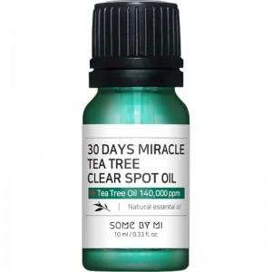 Some By Mi - Teebaumöl - 30 Days Miracle Tea Tree Clear Spot Oil