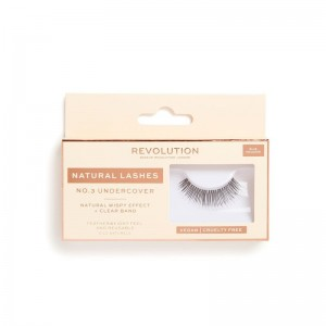 Revolution - Falsche Wimpern - Natural Lashes - No.3 - Under Cover