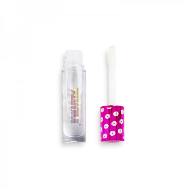 Revolution - Lipgloss - Revolution x Bratz Maxi Plump Lip Gloss - Clear